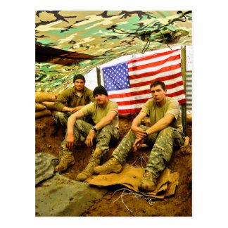Soldados de OEF Tarjeta Postal