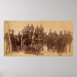 Soldados del búfalo póster