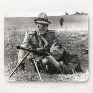 Soldados del italiano de WWII Alfombrilla De Raton