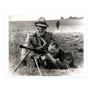 Soldados del italiano de WWII Postal