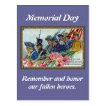Soldados del Memorial Day Postales