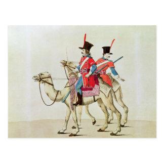Soldados del regimiento del dromedario, 1839 tarjetas postales