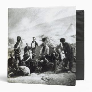 "Soldados en la Crimea, c.1855 Carpeta 1 1/2"""