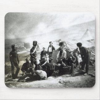 Soldados en la Crimea, c.1855 Alfombrillas De Raton