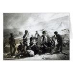 Soldados en la Crimea, c.1855 Tarjeta De Felicitación