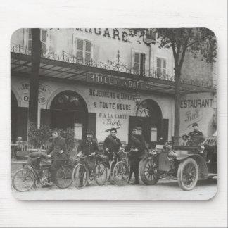Soldados franceses, coche, moto alfombrilla de raton