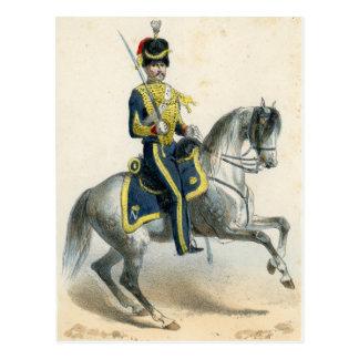 Soldados franceses del siglo XIX Postales