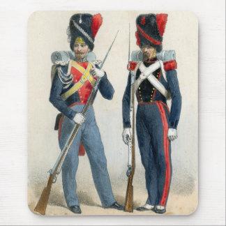 Soldados franceses del siglo XIX Mousepads