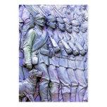 Soldados prusianos, (5) que marcha plantillas de tarjetas personales
