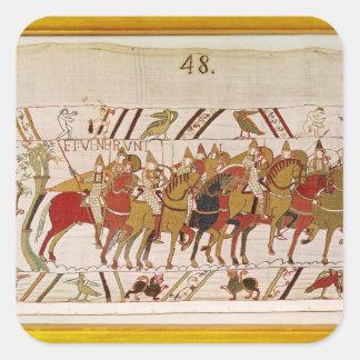 Soldados que dejan Hastings para hacer batalla con Colcomania Cuadrada