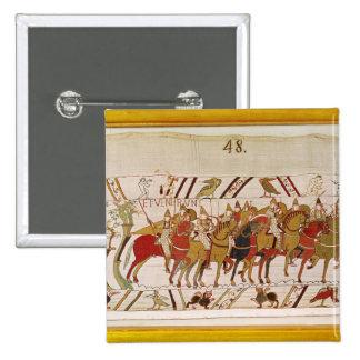 Soldados que dejan Hastings para hacer batalla con Pin Cuadrado