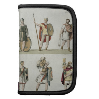 Soldados romanos, detalle de la placa 2, clase 5 d planificadores