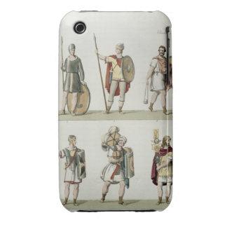 Soldados romanos, detalle de la placa 2, clase 5 d iPhone 3 Case-Mate cárcasas