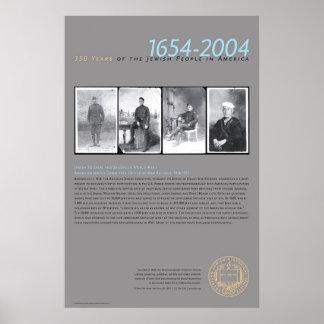 Soldados y marineros judíos en WWI Póster
