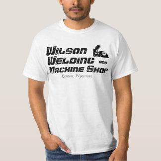 Soldadura, camiseta de la tienda de máquina