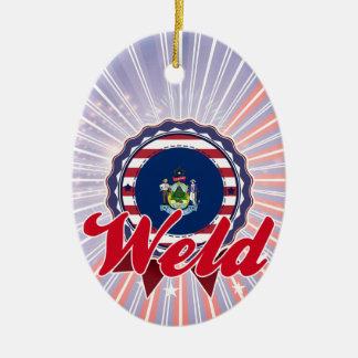 Soldadura YO Ornaments Para Arbol De Navidad