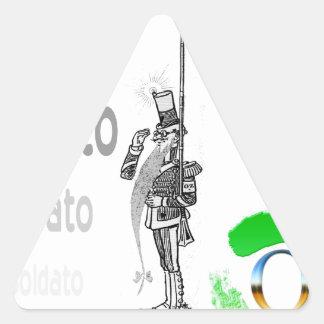 Soldato Triangle Sticker