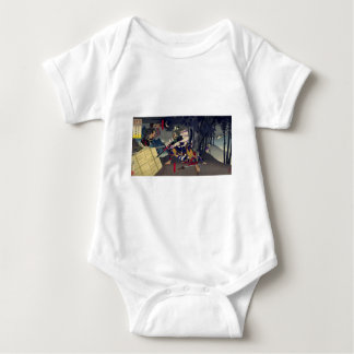 Solder temple mountain defeat/miss military office baby bodysuit