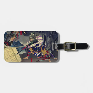 Solder temple mountain defeat/miss military office luggage tag