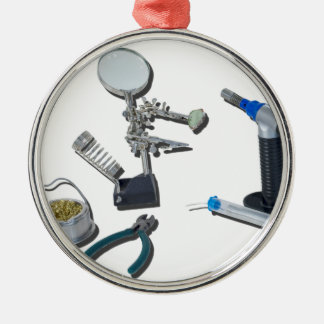 SolderingTorchTools032215 Metal Ornament