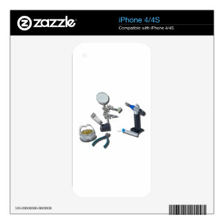 SolderingTorchTools032215 Skin For iPhone 4