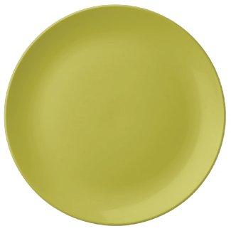 Soldi Golden Dinner Plate