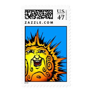SolDiablos-sun Postage