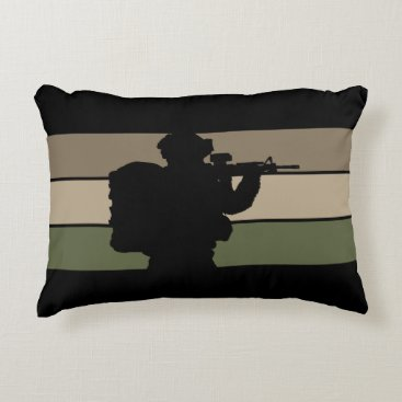 Soldier Accent Pillow