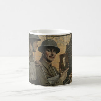 Soldier and Mom Coffee Mug