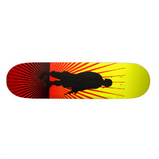 Soldier At Sunset Skate Board Decks