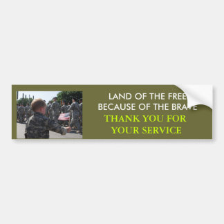 SOLDIER BUMPER STICKER