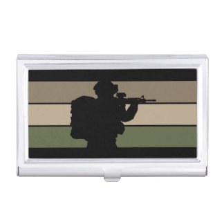 Soldier Business Card Case