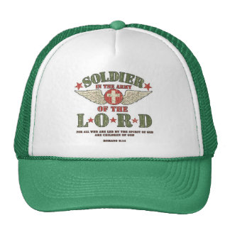 Soldier  Cap Trucker Hat