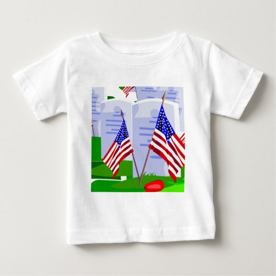 Soldier Cemetery Baby T-Shirt