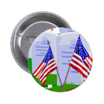 Soldier Cemetery Pinback Buttons