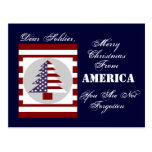 SOLDIER CHRISTMAS CARD