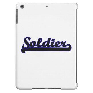 Soldier Classic Job Design iPad Air Case