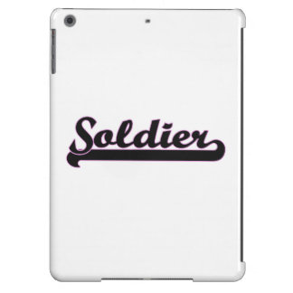 Soldier Classic Job Design Cover For iPad Air