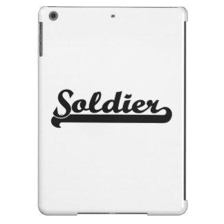 Soldier Classic Job Design iPad Air Cases