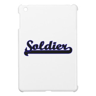 Soldier Classic Job Design iPad Mini Cases
