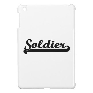 Soldier Classic Job Design iPad Mini Covers