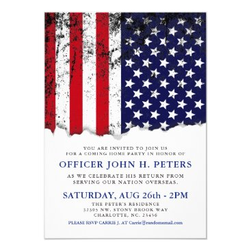 Soldier Coming Home Party Announcement | Invite