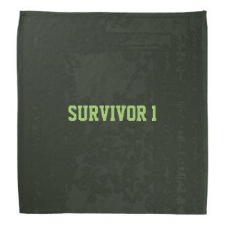 Soldier Design Survivor 1 © With Text Bandana