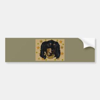 Soldier  Doxie Bumper Sticker