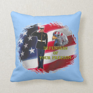 Soldier flag American MoJo Pillow
