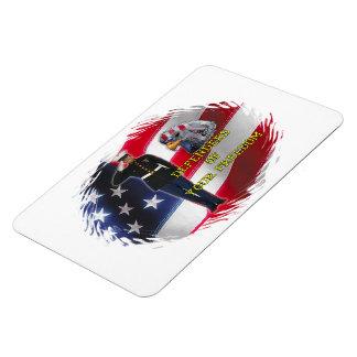 Soldier flag Premium Magnet (2) sizes
