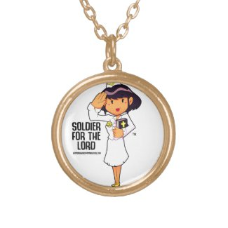 SOLDIER FOR THE LORD NECKLACE
