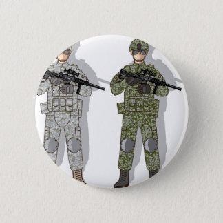 Soldier Full Gear Button