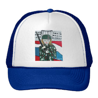 Soldier Girl Mesh Hats