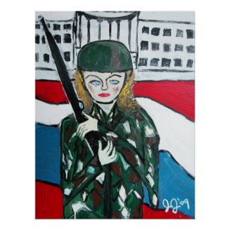 Soldier Girl Poster